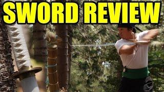 Ryan Sword Review - Wado Ichimonji (Zoro's Sword) COSPLAY FADOODLES