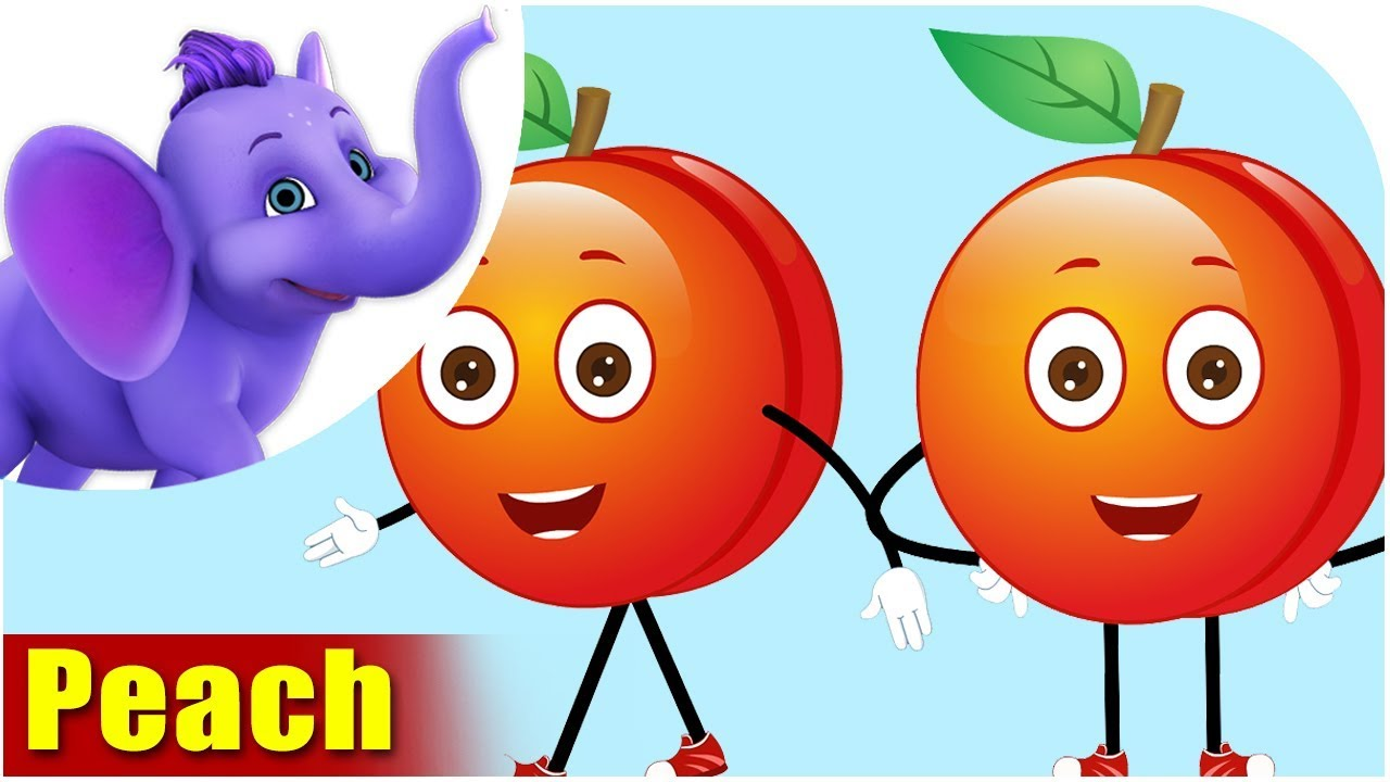 Aadoo - Peach Fruit Rhyme in Hindi - YouTube