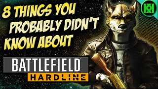 8 things you probably didn t know about battlefield hardline secrets easter eggs trivia bfh