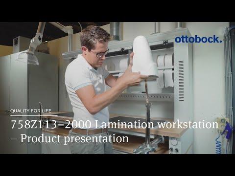 758Z113=2000 Lamination Workstation – Product Presentation │ Ottobock