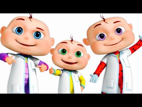 Thumbnail: Five Little Babies Dressed As Doctors | Five Little Babies Collection | Zool Babies Fun Songs
