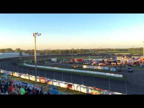 Fairmont Raceway Hobby Stock Feature 7-8-17