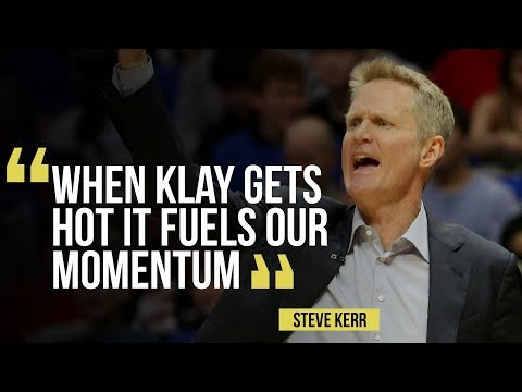 VIDEO: Warriors' Steve Kerr on Klay Thompson's big game in 113-105 win versus L.A. Clippers