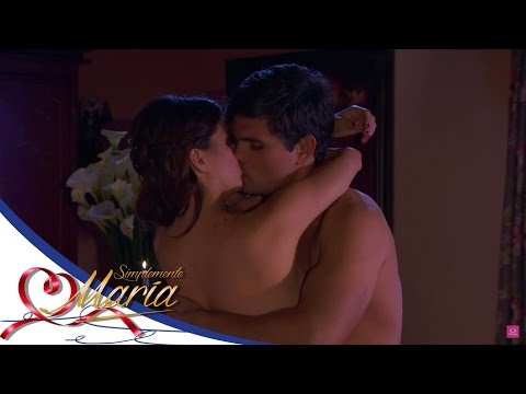 ¡María y Cristóbal celebran su noche de bodas! - Simplemente María