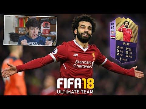 SALAH POTY 98 COMPLETATO! IL PRIMO TOTS E' MIO! - FIFA 18