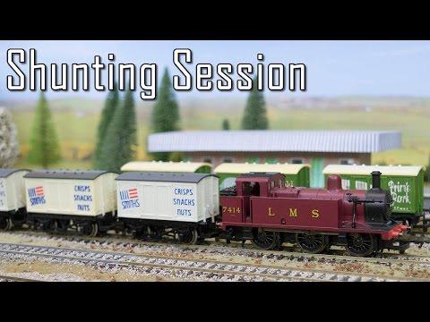 A Model Train Shunting Video
