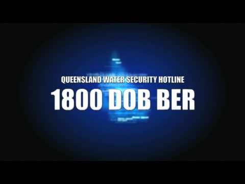 Queensland Water Security Hotline - Every Drop Counts
