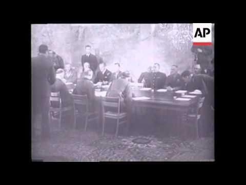 File Truman, signing of German surrender