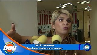 Itatí Cantoral defiende a Thalía | Hoy