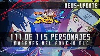 Naruto Storm 4: 111 de 115 personajes confirmados e imágenes del Poncho DLC