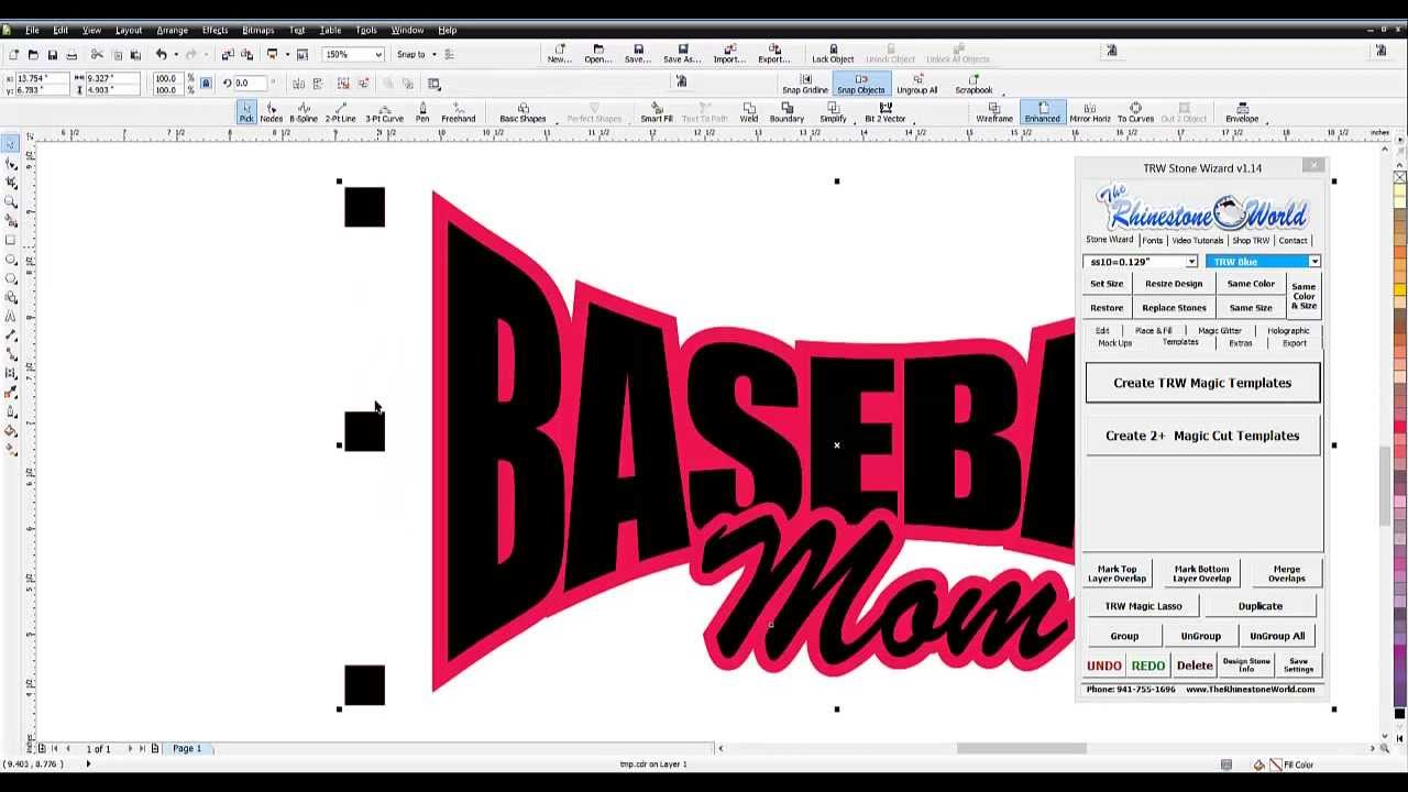 Sticker graphic design software - How To Make A Glitter Baseball Mom Car Window Decal Gcc Expert 24 Vinyl Cutter Part 1 2