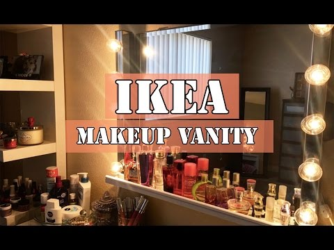 DIY: Ikea Makeup Vanity
