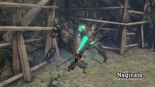 Toukiden 2 - Naginata Gameplay Trailer