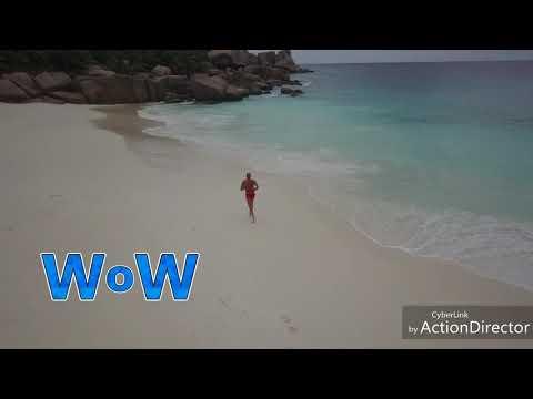 Seychelles dronare con mavic pro 8-4-2018🛩🌊🌞📷