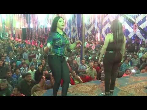 أفراح مخاريطه دمياط أبو حنين مهرجان الزعيم والرقصة صافيناز01227087136