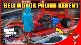 Download lagu WOW MOTOR INI PAKE MESIN MOBIL SPORT GTA V ONLINE THE DIAMONDRESORT MP3