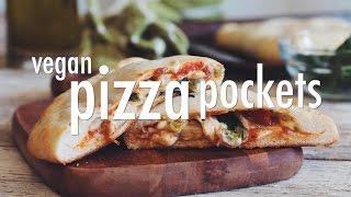 VEGAN PIZZA POCKETS | hot for food