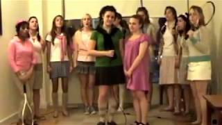 A Capella Girls Prep Cover of  Ben Folds Remix of Bitches Ain