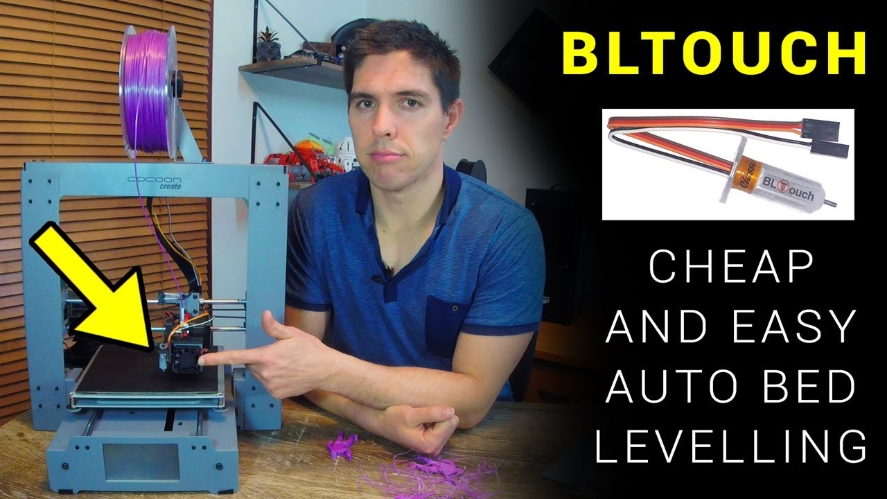 BLtouch: How to add cheap and easy auto mesh bed levelling