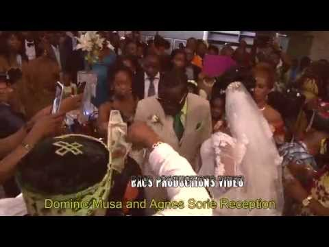 Dominic Musa and Agnes Sourie wedding Reception