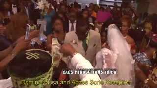 Sierra Leone Wedding (Musa and Agnes Sourie