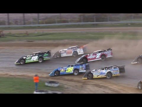 ULMS Super Late Model Heat Three | McKean County Raceway | Fall Classic | 10-15-16