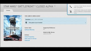Star Wars Battlefront is now available For Pre-Load!