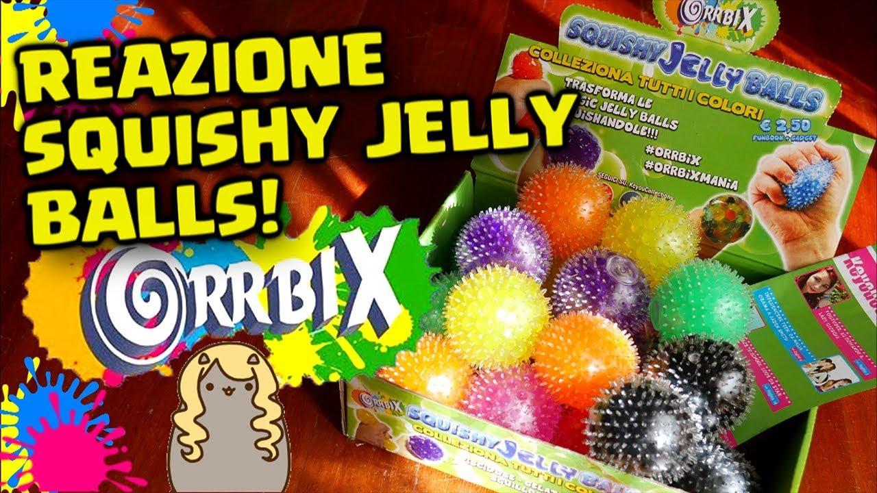 Squishy Baru 2018 : APRIAMO TUTTE le NUOVE ORRBIX JELLY BALLS! Reazione Squishy Ball Orrbix By FrancyDreams - YouTube