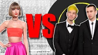 Did Twenty One Pilots and Taylor Swift Copy Each Other???