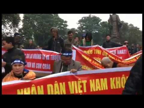 Biểu Tình Phản đối Trung Quốc Tại Hà Nội
