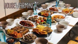 신혼 집들이 브이로그 | housewarming | h…