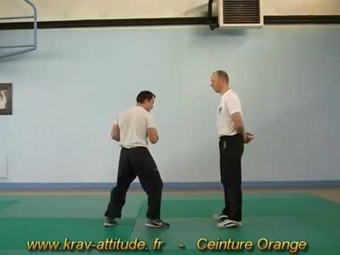 programme ceinture orange krav-maga - YouTube e34c6512661