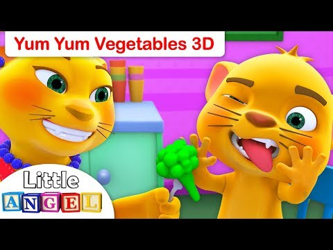 Yum Yum Healthy Vegetables, No No Healthy Habits, Baby Shark, Princess Songs by Little Angel