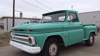 Project 1964 Chevrolet C10 stepside barn find