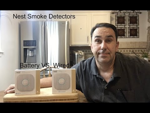Nest Smoke Detectors Battery VS. Wired