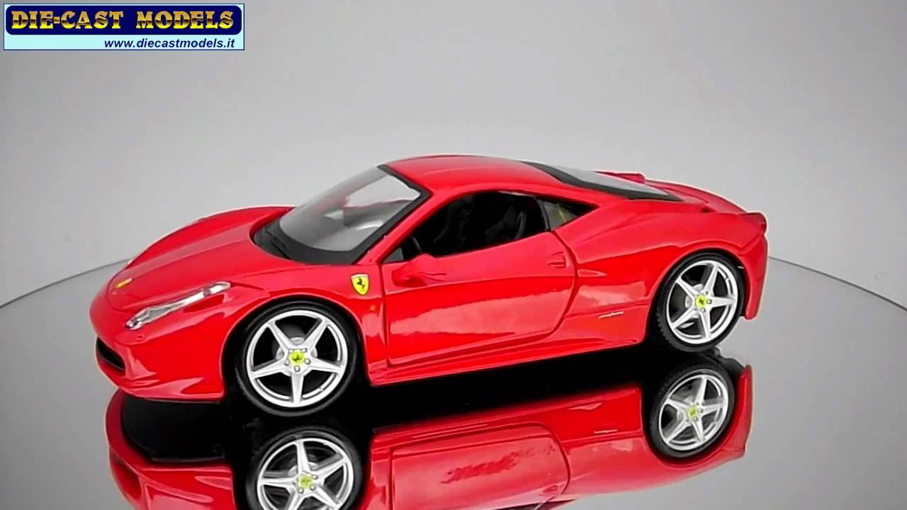 Ferrari 458 Italia 1 24 Maisto Youtube