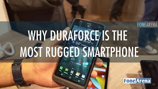 Kyocera DuraForce XD Hands On - Most Rugged Smartphone