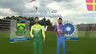 India vs South Africa 1st T20I