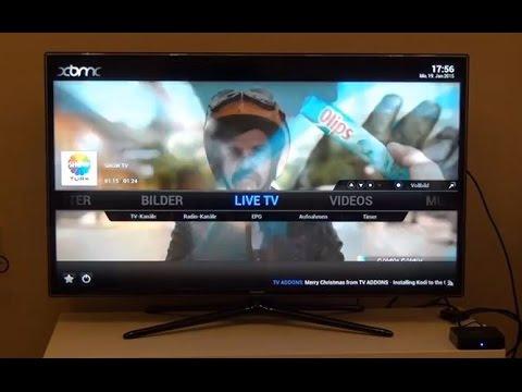 XBMC KODI Live TV Paket Internet 2016 How To turk IPTV Russia Kostenlos Review Smart Fernsehen