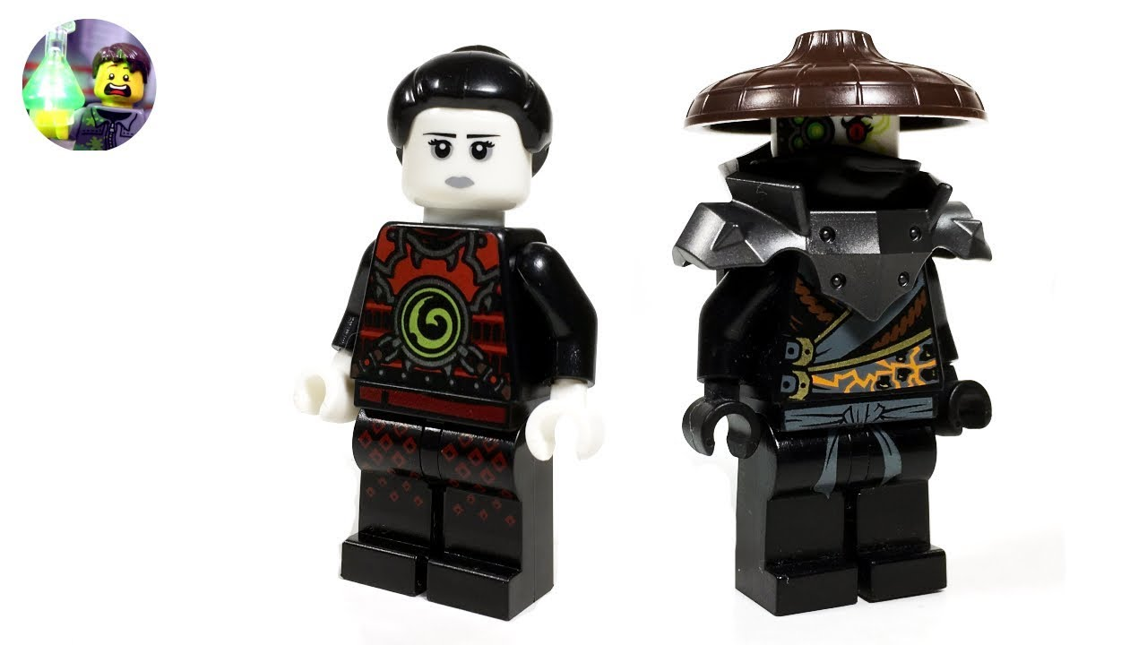 Lego Ninjago Custom Heavy Metal Minifigure From Hunted Youtube
