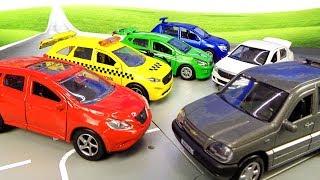 Машинки модельки Технопарк легковые автомобили