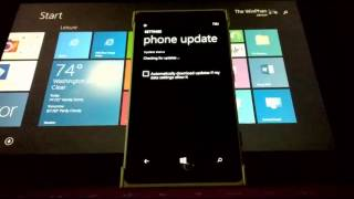 Checking For Windows Phone 8.1 Update