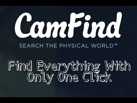 CamFind – An Image Recognition And A Visual Search Engine App in urdu/hindi