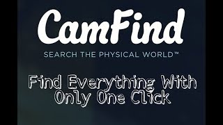 CamFind - An Image Recognition And A Visual Search Engine App in urdu/hindi