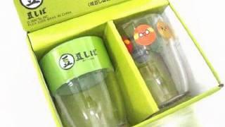 Mameshiba Glass Cup - Anime Character in Japan