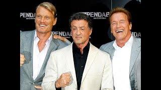 Шварценеггер,Сталлоне и Лундгрен заявили ,что не постареют,Schwarzenegger,Stallone and Lundgren said