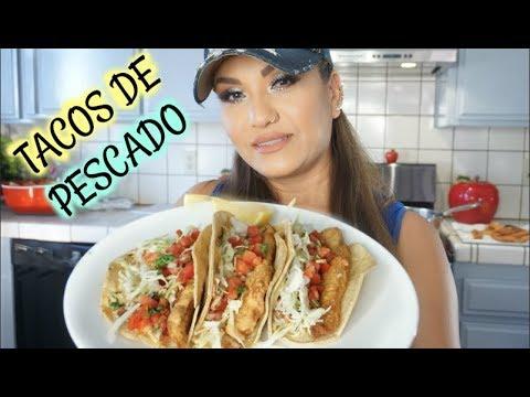 Tacos De Pescado Capeado En Harina | FISH TACOS