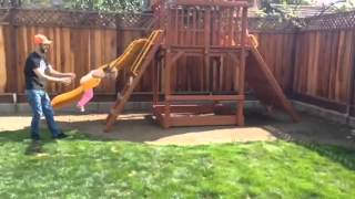 Passion 4 K.i.d.s. Donates Swing Set To Baby Riley