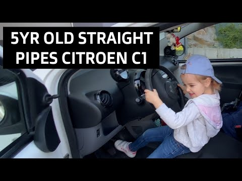 5yr Old Straight Pipes Citroen C1