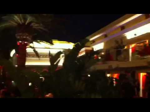 Surrender club, vegas - pool night